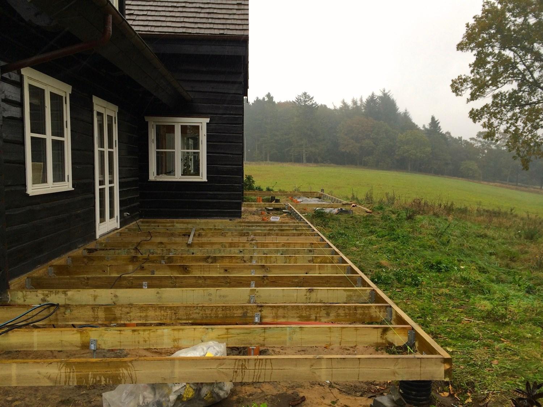 Picture of: Opbygning Af Traeterrasse Udfores I Helsingor Horsholm Og Humlebaek